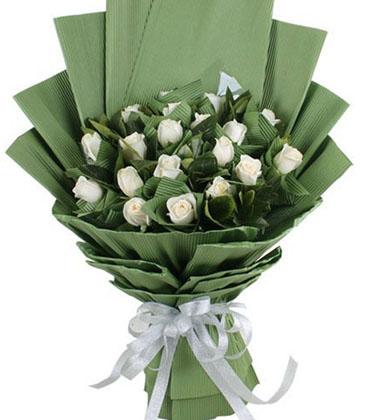鲜花包装为手工做品,包装纸